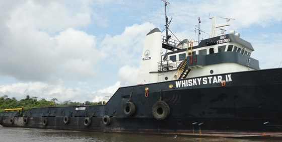 Whisky Star IX - Supply vessel